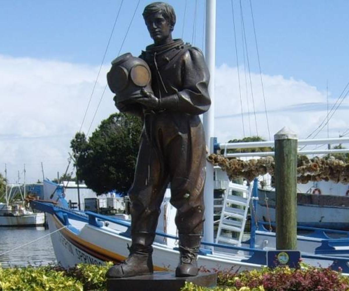 Tarpon-Springs-Statue