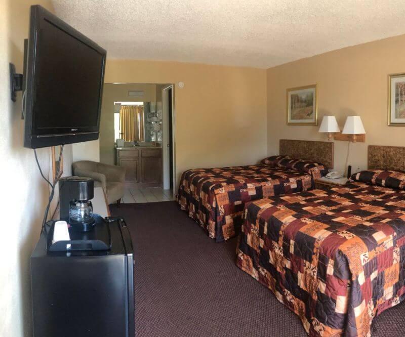 Tarpon shores Inn standard double room
