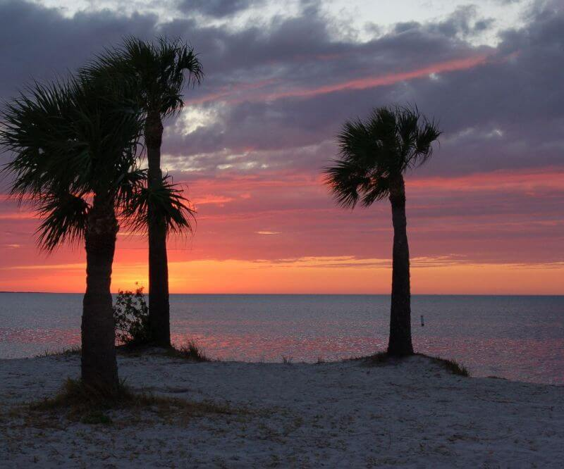Tarpon Springs Fl Sunset